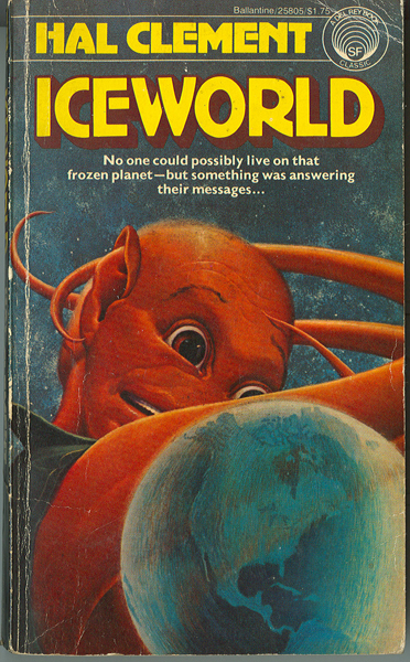 Cover of the 1977 Ballantine edition of Clement's 1953 novel. Cover art by HR Van Dongen